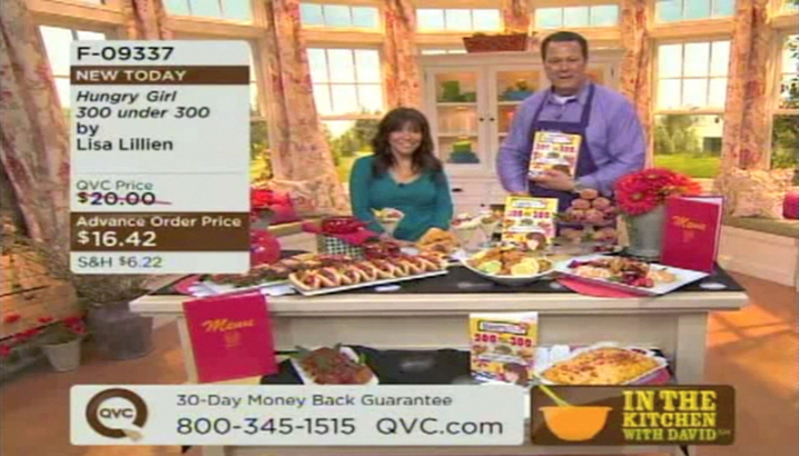 Amazing Hungry Girl Video: QVC: In The Kitchen With David (March 2011) Pictures